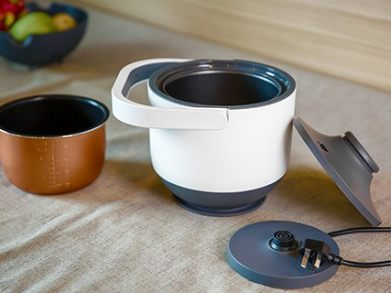 PowerCooker |Multi-Use| Detachable heating base for cord-free use